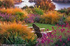 Gardening Gone Wild!!! dusk at heritage house garden