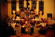 altar del dia de muertos