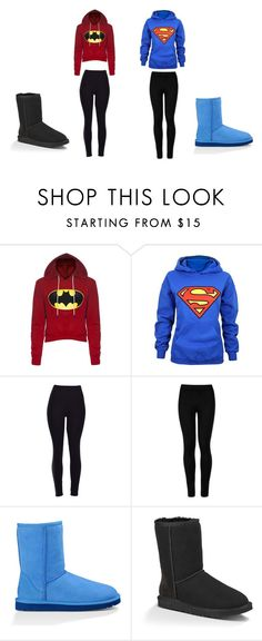 """""""Batman Vs Superman"""" by janessan-963 on Polyvore featuring Wolford and UGG Australia"""