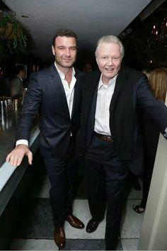 Liev Schreiber & Jon Voight from Ray Donovan.