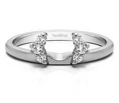 14 Ct Engagement Ring 0.3ctw Cz Wedding Band White Gold Ring To Suit The PeopleS Convenience Fine Jewelry