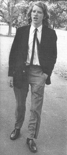 New Hi-rez of David at Arlington Cemetery in Washington D.C. 6/6/74