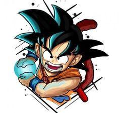 Kid Goku, Dragon Ball Z - anime Dragon Ball Gt, Smal Tattoo, Kid Goku, Fan Art, Anime Art, Sketches, Drawings, Manga Girl, Anime Girls