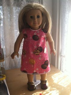 Girl Scout Cookie Doll Dress