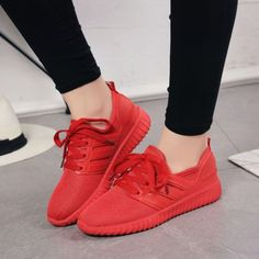 Hot Sale Chic Womens Girls Fashion Sneakers Lace Up Round Toe Sports Shoes Size | eBay