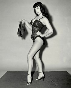 For this weeks Pin-Up of the Week we celebrate the life of Pin-Up Icon Bettie Page. As one of the World's most photographed women, Bettie left her mark on a society by doing things her way and not conforming to the typical roles of women.