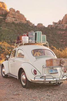 Old school, summer road trip!