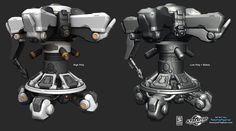 Firefall - Hard surface Art Dump - Polycount Forum