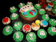 Casino Themed Cupcakes