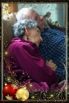 I love to see two older people who still love each other.Gives me hope for the rest of us.