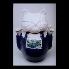 Delightful cat from Paula Rey Art.