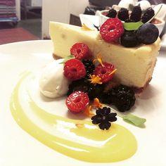 white chocolate. meyer lemon. meringue. fresh berries.   @firefly.the.dana Instagram photos | Websta