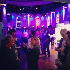 Netwerken tijdens het #MediaparkJaarcongres op het #Mediapark in #Hilversum #mpjc2014 #iMMovator