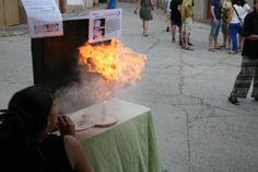 Un Experimento Explosivo: Fuego con Harina - experCiencia