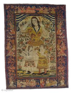 Antique Isfehan Rug