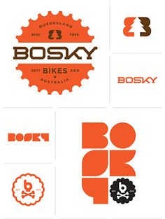 Love this retro-looking brand. This is a style I'd like to try with a client.
