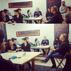 Stefano Piccoli alla scuola romana dei fumetti con Guerrilla radio. Vittorio Arrigoni, la possibile utopia
