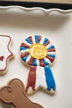 schnauzer cookies, ACK cookies, dog show cookies, dog bone cookies, winner's circle, American Kennel Club, giant schnauzer www.SoonerSugar.com