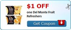 New Coupons + Ibotta Offers for Del Monte, Oscar Mayer, Cascade, Maybelline, and Many More!
