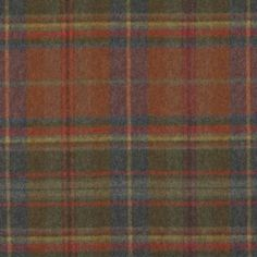 Ralph Lauren THIRLESTONE PLAID WOODLAND Fabric