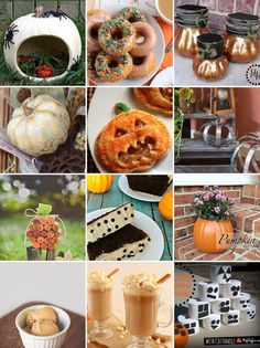 Pumpkin Crafts, Recipes & More