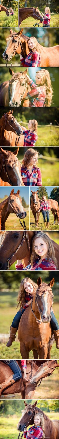 Cute pics for horse-loving girlies!!