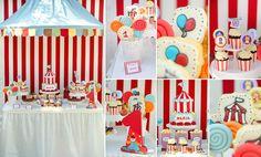 Petrecere Maria Circus Party, Sleepover, Tea Party, Parties, Kitty, Boutique, Birthday, Fiestas, Little Kitty