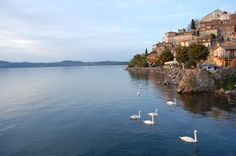 Bracciano Lake, near Rome, Italy