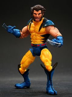 Marvel Legends X-Men Legends Wolverine // Pinned by: Marvelicious Toys - The Marvel Universe Toy & Collectibles Podcast [ m a r v e l i c i o u s t o y s . c o m ]