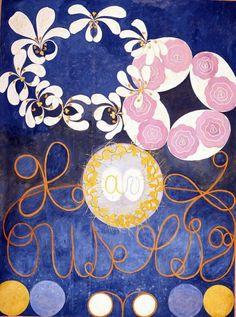 Hilma af Klint, The Ten Largest, No.1, 1907
