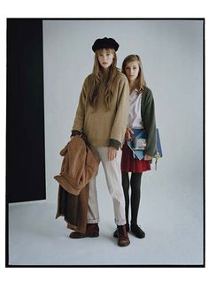 The Campbell sisters photographed by Tim Walker; W Magazine April 2011