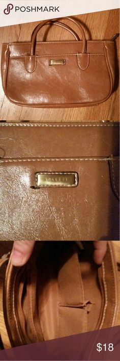 Rosetti brown leather hand bag Excellent Condition Rosetti leather brown hand bag Rosetti Bags