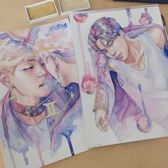 Park jimin bts fanart credit to the artist acuarele, picturi, shițe, sfatur Taehyung Fanart, Jimin Fanart, Bts Chibi, Kpop Fanart, Draw Bts, Kpop Drawings, Wow Art, Bts Jimin, Bts Wallpaper