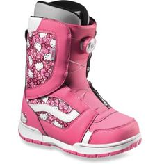 Vans Encore Hello Kitty Snowboard Boots - Girls  Kids Snowboard Boots 222452d6a