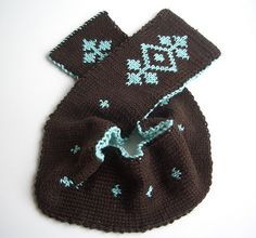 free pattern  double knitting