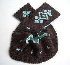 free pattern  double knitting