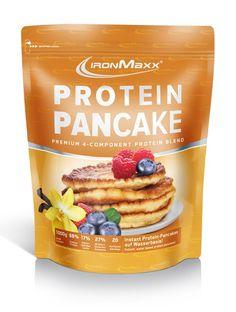 Protein Pancake Ironmaxx, Aroma Vanille, 1000 g Beutel mit nur 17.1 % Kohlenhydraten, aber hohen 65.6 % Protein, low fat, 1000 g CHF 32.80 - JETZT AUCH ONLINE. #lowcarb #lowfat #highprotein #hoherProteingehalt #muskelaufbau #bodybuilding #abnehmen #fitness #active12 #Ironmaxx #Pancakes #ProteinPancake