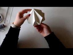 DIY Diamant falten in nur 8 Schritten - Origami Deko, Mobile - alive4fashion - YouTube