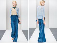 Regine nuovo 2014 primavera e l'estate di alta qualità tencel denim jeans gamba larga pantaloni femminile in da su Aliexpress.com