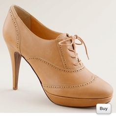 Oxford heels by J. Crew