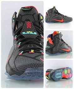 Nike Lebron 12 'Data' - King James' twelfth Nike signature basketball shoe in the best colorway so far? Nike Free Shoes, Nike Shoes Outlet, Running Shoes Nike, Nike Tenis, Nike Air Max 87, Adidas Basketball Shoes, Basketball Uniforms, Sports Shoes, Baskets