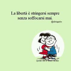 La vita senza libertà, è come un corpo senza lo spirito. Khalil Gibran La libertà è quel bene che ti fa godere di ogni altro bene. Montesquieu La metà della vita di un uomo è passata a …