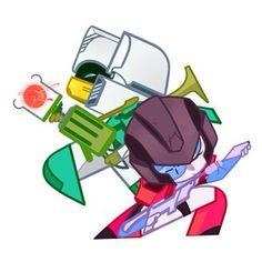 Brainstorm and Perceptor Chibi so cute x3