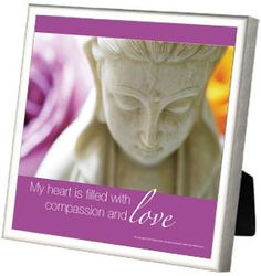 My heart is filled with compassion and love.  ♥ Kwan Yin