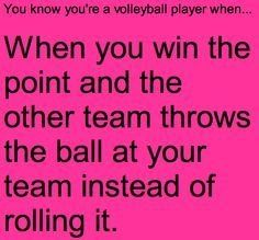 Sport Quotes Humor Volleyball Players Ideas For 2019 Volleyball Jokes, Volleyball Problems, Volleyball Ideas, Volleyball Drills, Coaching Volleyball, Volleyball Motivation, Volleyball Training, Haikyuu, Volleyball Inspiration