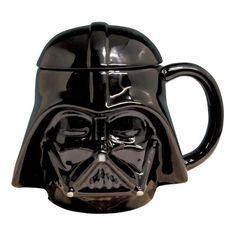 b12e484242f5 Star Wars Mug With Lid - Darth Vader 3D Mug Available   Li l Treasures