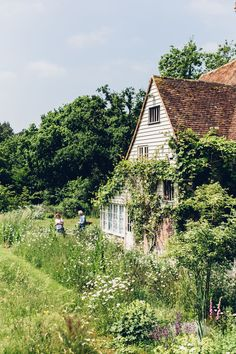 House Plant Maintenance Tips A Fairytale Garden Hidden In East Sussex - Lobster And Swan Fairytale Garden, Dream Garden, Forest Garden, Big Garden, Herb Garden, Fairytale House, Autumn Garden, East Sussex, Garden Cottage