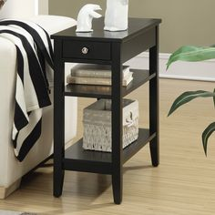 Convenience Concepts American Heritage Rectangle End Table - 7107159ES