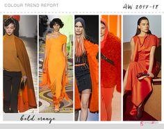 orange colour trend