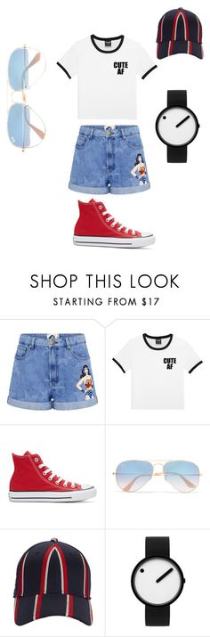 """Untitled #4"" by lilbil1 on Polyvore featuring Paul & Joe Sister, Converse, Ray-Ban, rag & bone and Rosendahl"